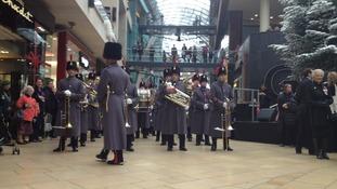 military band marks Bristol's Poppy Day