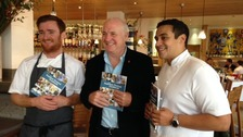 Cornish chefs Jack Stein, Rick Stein and Paul Ainsworth