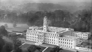 Trent Building at the University of Nottingham. September 1927.
