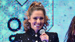 Cheryl switches on Oxford Street Christmas lights
