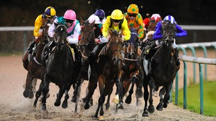 Four jockeys hurt and runner put down after dramatic five horse pile-up in Wolverhampton