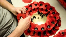 Poppy wreaths will be laid during special ceremonies on Sunday.