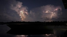Venezuelan town of Catatumbo is named as the place with the world's most lightning bolts.