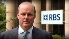 The chief executive of NatWest&#x27;s owner RBS, Stephen Hester 