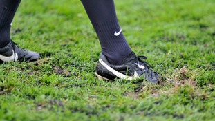 boot on pitch