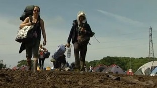Isle of Wight Festival - the clean up