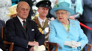 The Queen and Duke of Edinburgh