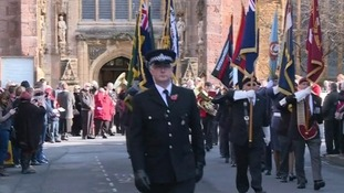 A parade is held on Hammet Street, to the centre of town and into Vivary Park