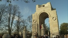 Leicester commemorates the war dead