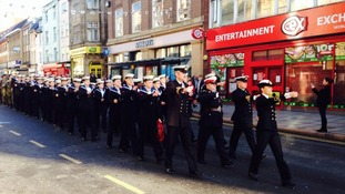 Your pictures of Remembrance events across the Midlands