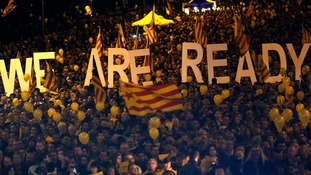 1.6m Catalans vote for independence in unofficial referendum