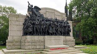 War memorial's honoured