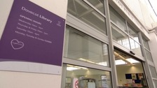 An image of Dovecot library in Liverpool.