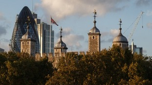 The Gherkin: the second tallest tower in the City of London