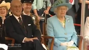 HM the Queen &amp; Prince Philip