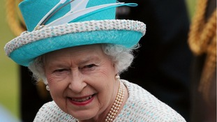 Queen Elizabeth II pictured during a State Visit to Ireland in May 2011