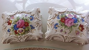 Two ornamental Royal Doulton trinket boxes were stolen.