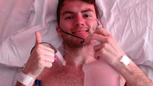 Undated handout file photo of teenage cancer victim Stephen Sutton