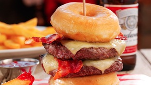 Double Donut Burger