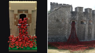 Nick Sweetman has recreated the Tower of London's Blood Swept Lands and Seas of Red.