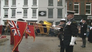 Newport's Armistice Day commemorations