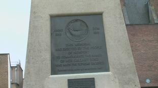 Newport war memorial