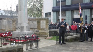 Armistice Day in Horsham