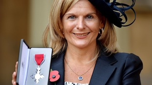 Stephen Sutton's mother 'proud' to collect MBE for her son