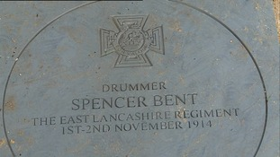 Memorial unveiled in Stowmarket