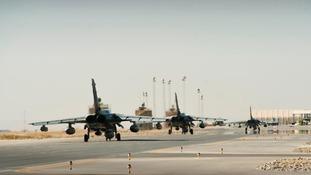 Tornados leaving Afghanistan