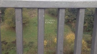 Message left in Byker