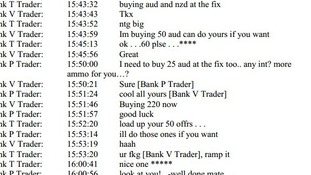 transcript of forex fixing chatrooms