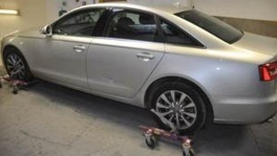 Recovered Audi A6