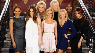 Jennifer Saunders and the Spice Girls