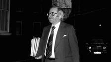 Joel Barnett in Downing Street in 1976, when he was Chief Secretary to the Treasury