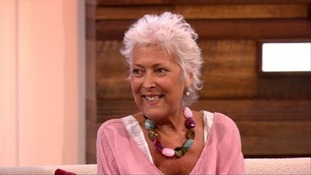 Lynda Bellingham on her last appearance on Loose Women.