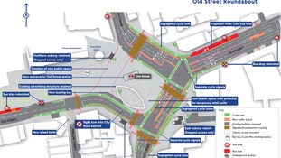 Old Street roundabout plans