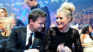 Declan Donnelly and Ali Astall pictured earlier this year.