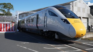 The new high speed trains destined for the North East