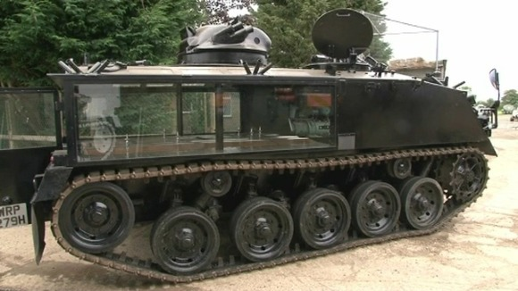 Nick&#x27;s armoured hearse