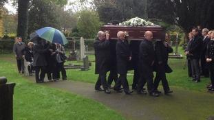 Acker Bilk funeral