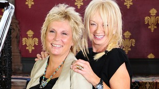 Jennifer Saunders and Judy Craymer