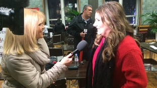 Calendar's Christine Talbot interviews X Factor star Sam Bailey ahead of the Leeds Christmas Lights switch-on
