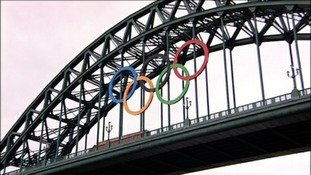 Tyneside prepares for the Olympics