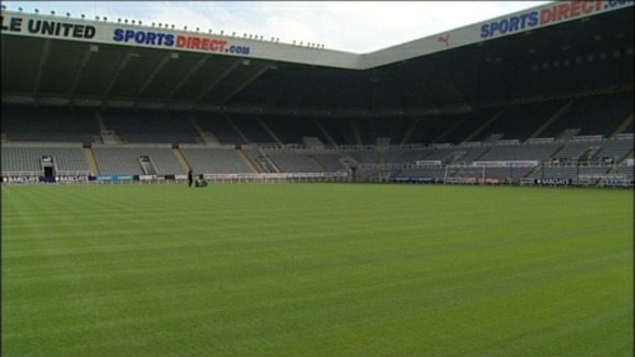 St James' Park pitch