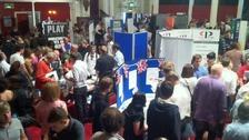 Jobseekers at Thanet MPs jobs fair