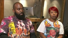 Michael Brown Sr and Lesley McSpadden