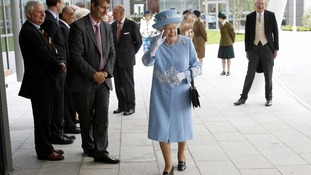 Her Majesty and the Duke of Edinburgh visit the new South West Acute Hospital in Enniskillen.