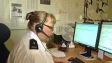 A call handler answering 999 calls