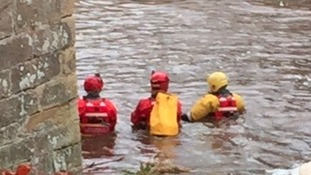The Marine Unit has spent the day searching the River Wansbeck in Morpeth.